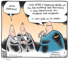 Gay Marriage Cartoons: Long Gay Marriage Ceremony