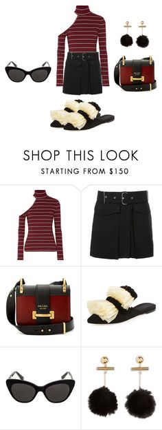 """rt 1"" by zkrn on Polyvore featuring W118 by Walter Baker, Acne Studios, Prada and Sanayi 313"
