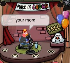 what even is this game doing? I never tried playing it as a child and now I regret that XD<<<you have been deprived of a great experience my good fellow Club Penguin Funny, Funny Club, Best Memes, Dankest Memes, Funny Memes, Hilarious, Car Memes, Amazingphil, Penguin Quotes
