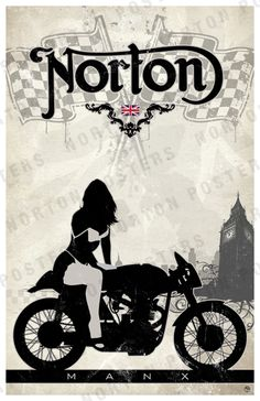 <3 Norton Motorcycle <3 caferacerpasion.com