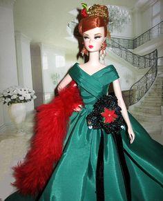 Christmas party time --silkstone Joan