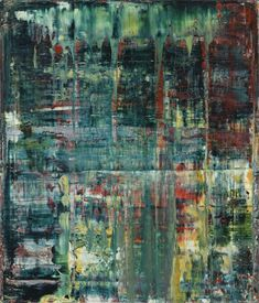 Gerhard Richter, Abstraktes Bild (Abstract Painting), 1994. Oil on canvas. 71cm H x 61cm W. [801-3]