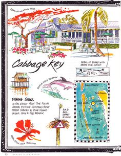 Magazine Illustration_Cabbage Key, Florida-.jpg