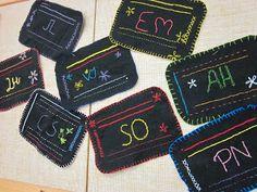 Kaarisillan käsityö: Pistoharjoituset Diy Crafts For School, Crafty