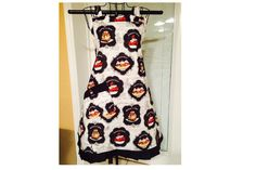 Banana Split Full Bib Apron by SpicyAprons on Etsy