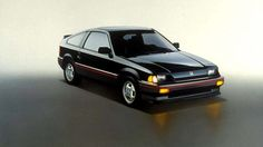 1987 Honda Crx Si The honda crx