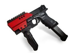 "G18C CUSTOM ""Machine-Rouge """