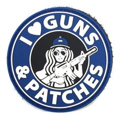 I ♥ Guns & Patches - Morale Patch