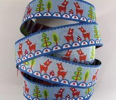Deerstar    Farbenmix Ribbon  1 yard by mountainofthedragon, $3.00