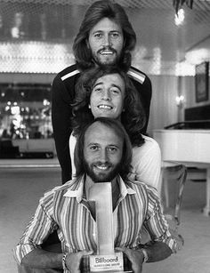 The Bee Gees.  Did you Know that Robin & Barry Gibb wrote the worship song  'In Christ Alone'?  Who knew! #Christian #faith