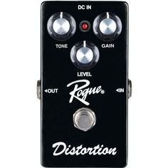 RogueDistortion Guitar Effects Pedal