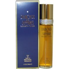 Diamonds and Sapphires by Elizabeth Taylor for Women, Eau De Toilette Spray, Introduced in Fragrance notes: a fresh cut floral bouquet of lily Elizabeth Taylor, Perfume And Cologne, Best Perfume, Perfume Bottles, Packaging, Lily Of The Valley, T 4, Health And Beauty, Mascara