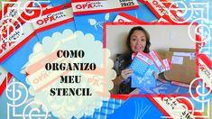 #DICA: COMO ORGANIZO MEU STENCIL