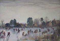 Skating at Beaulieu   E Cundall