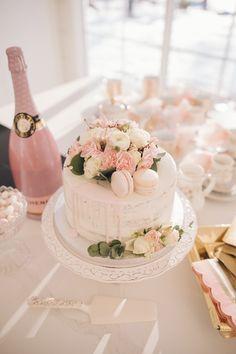 Christening Themes, Christening Party, 60th Birthday Cakes, 21st Birthday, Macaron Cake, Macarons, Pretty Cakes, Beautiful Cakes, Housewarming Party