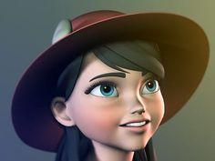 High End Maya Female Character Rig Character Rigging, 3d Character, Female Characters, Disney Characters, Fictional Characters, 3d Animation, Rigs, Maya, Disney Princess