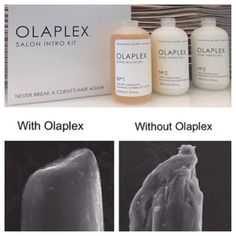 Olaplex is a revolutionary new product that will help you get the blonde you want with zero breakage! Your hair will even feel HEALTHIER after it's been lightened. Ask for Olaplex at your next appointment 801-550-8171!
