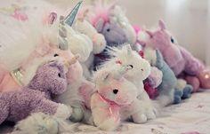 Unicorn plushies