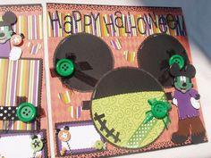 Mickey Mouse Disney Halloween Frankenstein