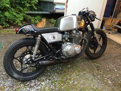 Crossfield. Suzuki GS 450