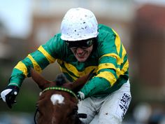 A P McCoy wins on Waxies Dargle at Fairyhouse, 19 Jan '14.