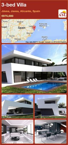 Villa for Sale in Jávea, Javea, Alicante, Spain with 3 bedrooms - A Spanish Life Murcia, Building Development, Guest Toilet, Alicante Spain, High Rise Building, Open Plan Kitchen, Ground Floor, Old Town, Great Places