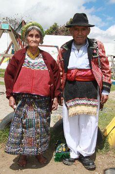 Mayan Couple in Los Encuentros, Guatemala