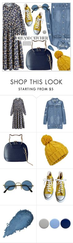 """""""Dream catcher"""" by teoecar ❤ liked on Polyvore featuring Miss Selfridge, Converse and Burberry"""