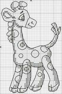 Схема вышивки крестиком «Жираф» | Вышивка крестиком