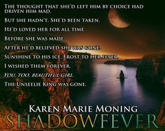 Shadowfever Fever Book, Fever Series, Celtic Heroes, Paranormal Romance Series, Karen Marie Moning, Fantasy Romance, Her World, Try Not To Laugh, Reading Time