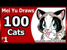 mei yu draws 100 cats #12