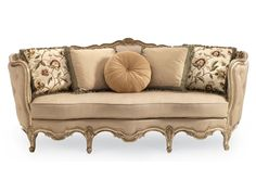 Shop for Compositions Carved Wood Sofa, A840-082-A, and other Living Room Sofas at Hickory Furniture Mart in Hickory, NC. Bring glamour and elegance into your home with our exquisite Florence collection: ornately carved frames in two finishes and two fabric combinations.