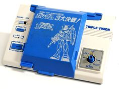 80s Retro Bandai LCD Game Watch Triple Vision Space Centurion Gundam MIJ 1983 #Bandai