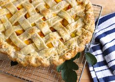 This is an awesome Peach Pie recipe that is something simple, classic, flavor-filled,and pure perfection.... Impeccable..