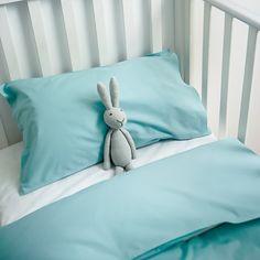 Lenjerie de pat copii Celadon & White #homedecor #inspiration #interiordesign #bunny #kidsroom Kidsroom, Bed Pillows, Pillow Cases, Toddler Bed, Bunny, Interior Design, Furniture, Home Decor, Bedroom Kids