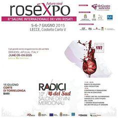 ViaggioGustando: 10 giorni di grandi eventi in Puglia: Roséxpo - Negroamaro Wine Festival - Radici del Sud