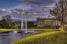 "Chatsworth House ...""Pemberley"" (Mr. Darcy's home) in  Pride & Prejudice"