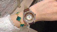 Cool Watches For Women, Watch Video, Make Time, No Frills, Bracelet Watch, Diamond, Bracelets, Unique, Accessories