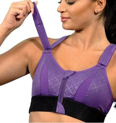The SHEFIT® line of custom adjustable, high-impact and medium-impact sports bras empowers women of all ages, athletic levels, and breast sizes with the perfect level of comfort and support. Get something better from your sports bra. My Wish List, Women Empowerment, Breast, Athletic, Running, Fitness, Sports, Clothing, Fashion