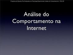Internet e Análise do Comportamento.