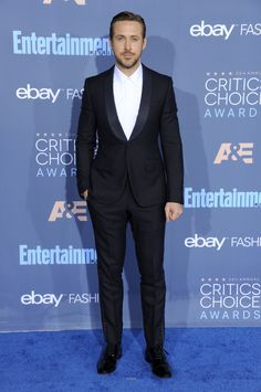 The 9 Best-Dressed Men at the 2016 Critics' Choice Awards Photos | GQ