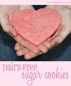 Dairy-Free Sugar Cookies