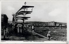 Swimming pool clifton park baltimore maryland ca 1920 my father was born in 1920 in a for Camping weston super mare with swimming pool