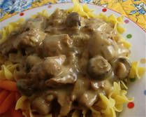 Beef Stroganoff - yum. So delish!