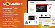 WooCommerce Supermarket Theme - GoMarket (WooCommerce)