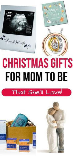 Christmas gift ideas for pregnant women that she'll love and use!