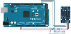 Arduino and DS3231 Real Time Clock Circuit Schematics
