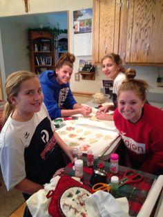 Cookie baking 2014