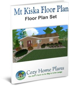 Floor plan for a small house (505 sq ft).