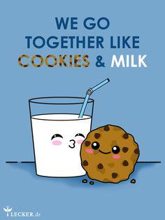 A match made in heaven. Die besten Cookie-Rezepte für ein Glas Milch!